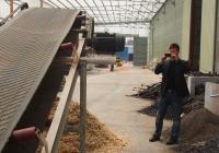 芬兰客户考察订购6吨生物质颗粒生产线