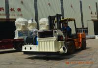 4吨木屑生产线发往浙江永康客户
