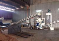 2014.9马来西亚木屑颗粒机生产线竣工