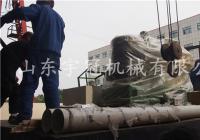 2017.5.15佳木斯新式560颗粒机发货