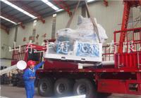 2017.5.23山西450木屑颗粒机发货