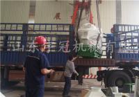 20170731哈尔滨颗粒机700与佳木斯颗粒机560同车发货发货