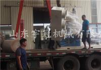 20170804内蒙木屑颗粒机发货