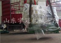 2017.8.14海南木屑颗粒机发货
