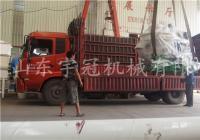 2017.9.11贵州新式木屑颗粒机发货