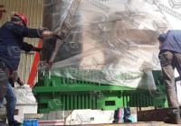 2018.4.25湖南700颗粒机、加宽216木片机、65×75粉碎机发货