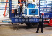 6月11日河南450木屑颗粒机发货