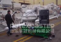 11月20日埃及客户时产4吨木屑颗粒生产线发货